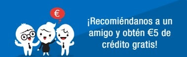 crédito gratis al recargar móvil Lyca