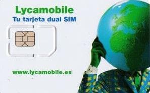 SIM para recargar móvil Lyca