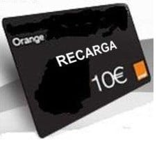 rasca para recargar movil orange