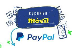 Recargar móvil con PayPal 1