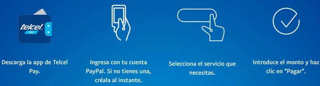 pasos para recargar móvil con PayPal