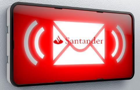 Recargar móvil Santander con un SMS