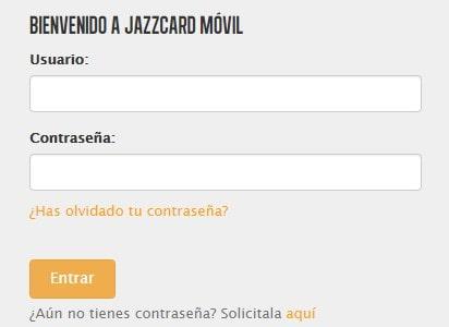 Recargar móvil Jazztel desde Jazzcard móvil