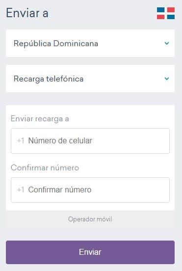 ¿Cómo recargar móvil de República Dominicana con tarjeta?