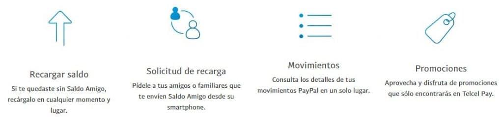 recargar saldo con PayPal