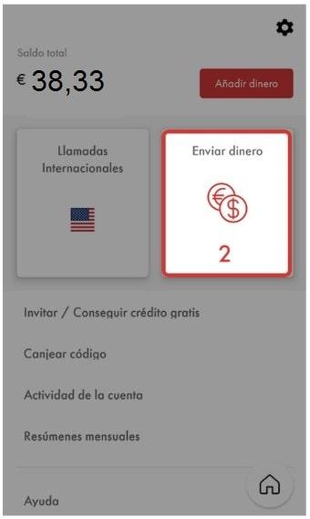 envia dinero con la app y recarga celular Rebtel