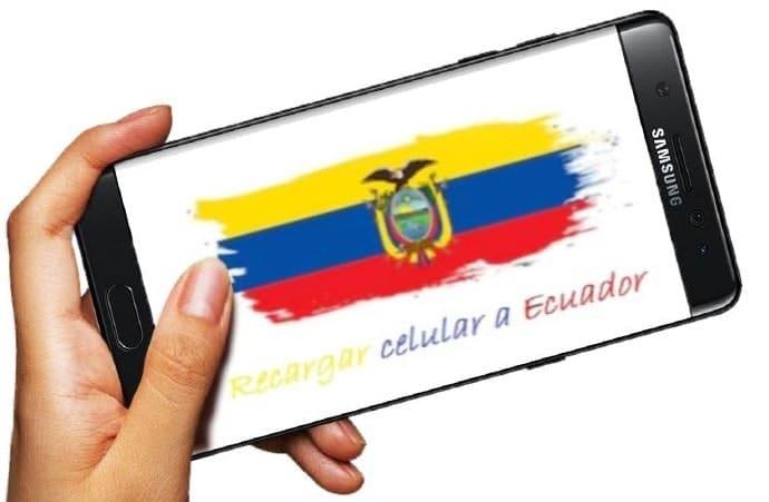 Recargar celular a Ecuador es fácil