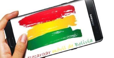 recargar móvil de Bolivia desde el exterior