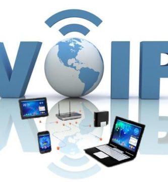 La telefonía IP, también llamada VOIP.