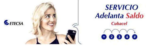Adelanta saldo móvil