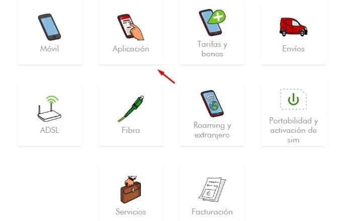 App móvil Pepephone