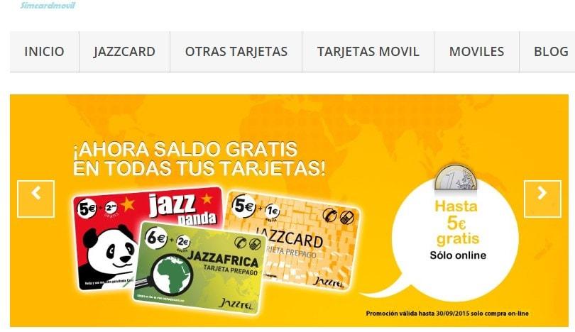 Recargar Jazzpanda con simcardmovil