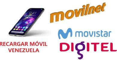 Recargar en Venezuela un móvil
