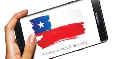 Cómo recargar móvil de Chile