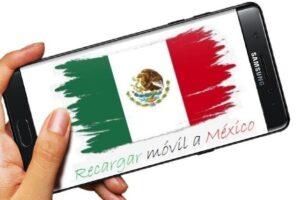 Cómo recargar móvil a México