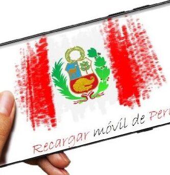 Cómo recargar móvil de Perú